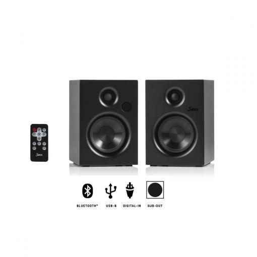 Titelbild Saxx airSOUND AS 30 Aktiv-Lautsprecher Paar