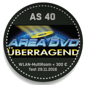 AREAD DVD Test: Saxx airSOUND AS 40
