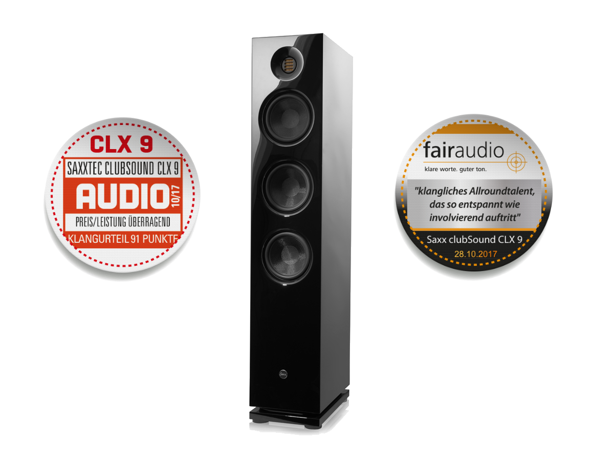 CLX 9 Standlautsprecher Audio fairaudio