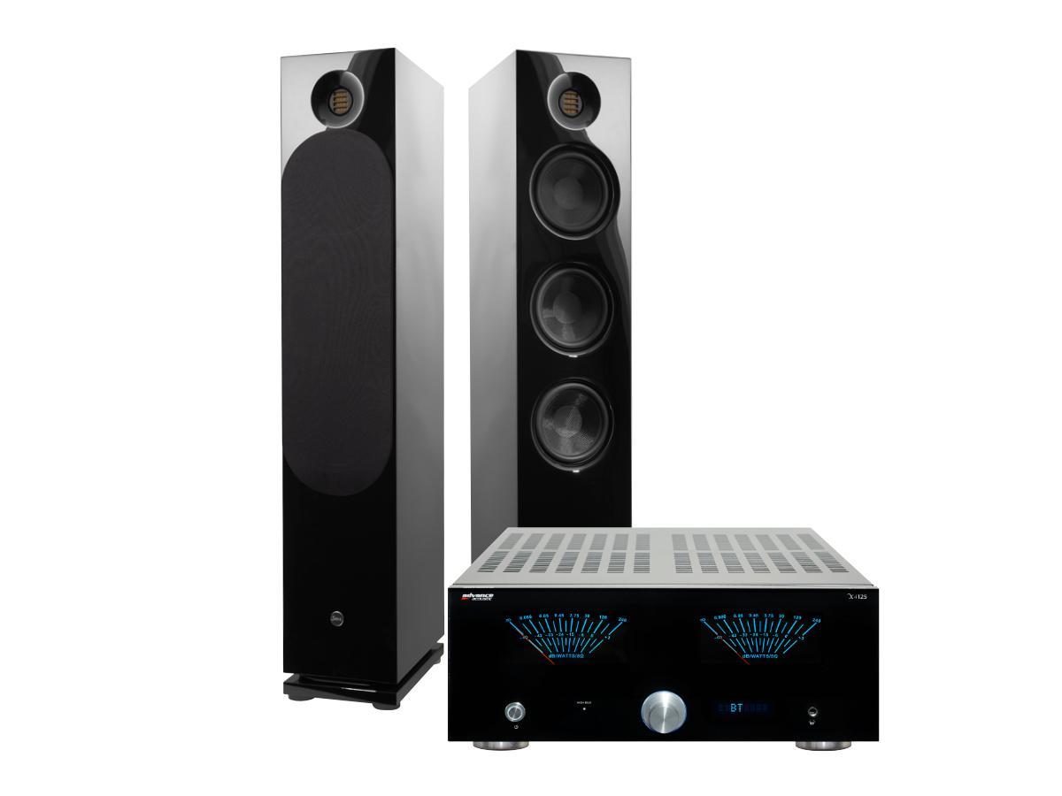 Saxx clubSOUND CLX 9 Advance Acoustics X-i 125 BB