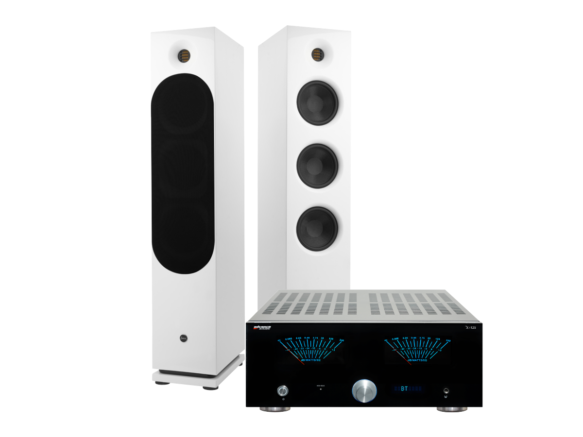 Saxx clubSOUND CLX 9 Advance Acoustics X-i 125 WB