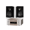 Saxx coolSOUND CX 30 + Marantz Melody X (M-CR 612) Schwarz Silbergold