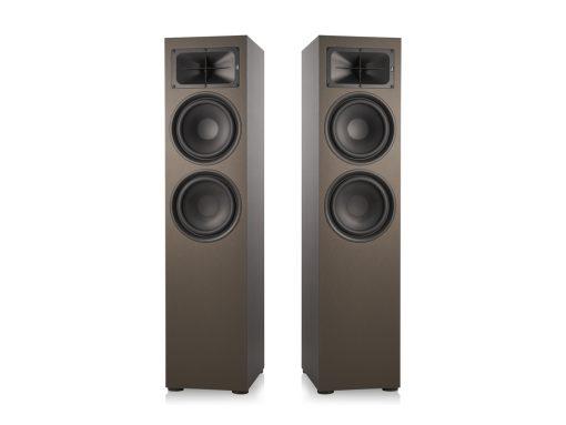 Saxx trueSOUND TS 900 Stand Lautsprecher paar Frontansicht ohne Frontrahmen Bronze.jpg