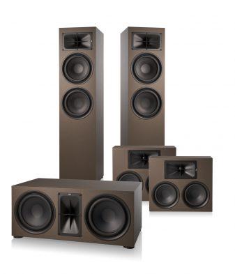 Saxx trueSOUND 2 x TS 900 1 x TS 500 2 x TS 300 5.0 Heimkino System Bronze