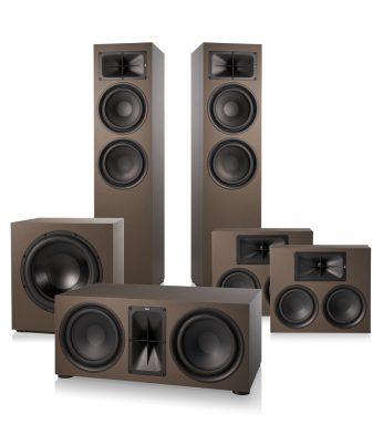 Saxx trueSOUND 2 x TS 900 1 x TS 500 2 x TS 300 & Saxx deepSOUND 1 x DS 12 cineSUB 5.1 Heimkino System Bronze