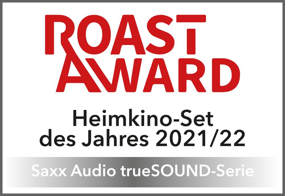 ROAST AWARD Heimkino-Set des Jahres 2021/22